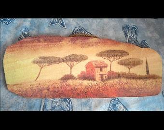 african art painting print on wood landscape print home decor wallart wonderful art print