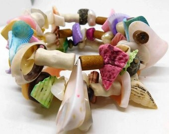 Seashell Wrap Bracelet