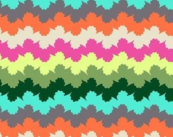 Organic Stripes in Pine Amy Butler Violette Free Spirit Cotton Fabric per fat quarter per metre FQ