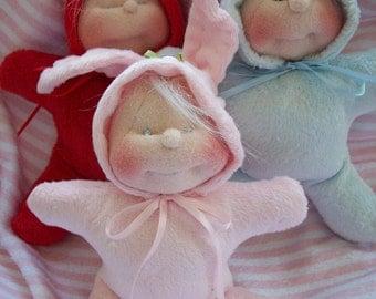 Dinky Baby Pattern 057 - Mel-O-Dee Button Babies - 6 inch dolls - PDF Pattern - Instant Download