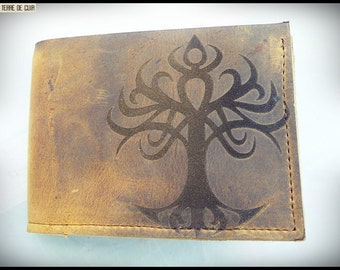 Yggdrasil Leather Wallet
