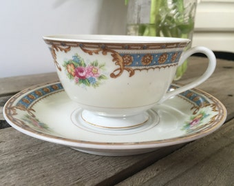 Beautiful regal teacup and saucer set