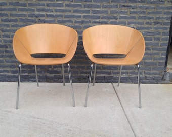 Lipse Chairs by Wolfgang Mezger for Davis - A Pair