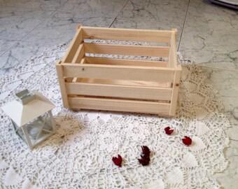 fir wood box