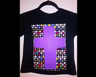 kids tshirt disco patchwork t-shirt for girls comes in 5-6yrs