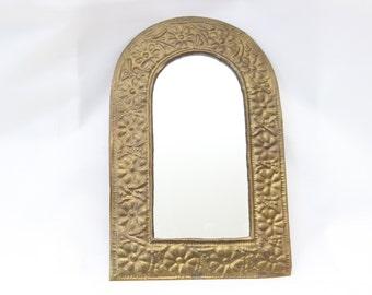 Small mirror bronze