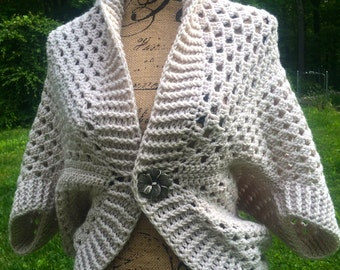 Summer Crocheted Shrug/ Bolero