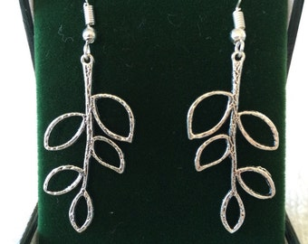 Branch Out Leaf Earrings
