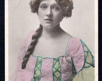 Miss Ruth Vincent. Opera Singer. Postcard