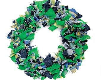 Rag Rug Wreath Kit