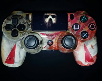 Custom Jason Voorhees - Friday The 13th  PS4 controller