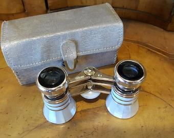 Vintage Binoculars Abalone Opera Glasses