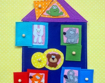 Baby toy, educational toy, kids toy,The wooden house