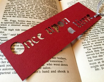 Bookmark, Paper bookmarks, Once upon a time, Coworker gift, Page markers, Once upon a time, Small gifts, Book accessories, Book marks