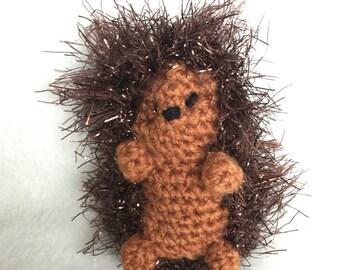 Crochet Amigurumi Hedgehog