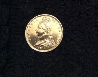 Queen Victoria Coin 1892