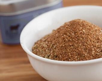 Hand-crafted Mediterranean Rub Seasoning - 4oz Refill Bag by Rockin' Rubs