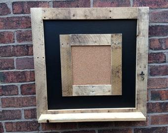 Cork board chalkboard cork message board cork shelf