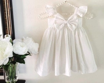 "Gorgeous "" SWEET MADELINE"" Flower Girl Dress ! Short Version!"