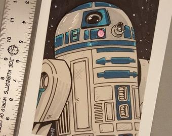 Original R2D2 Art