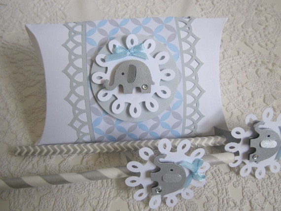 Baby Shower Favor Boxes Uk : Items similar to baby shower favor boxes elephant