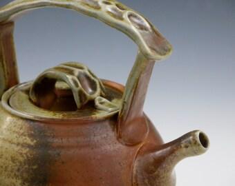 Woodfired Porcelain Teapot