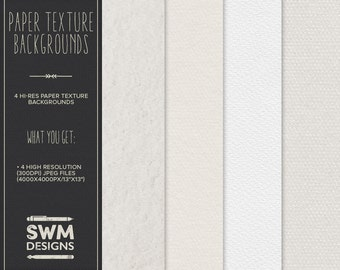 Paper Texture Backgrounds - Instant Download