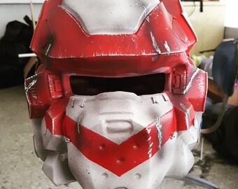 Halo warrior Helmet cast