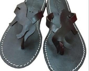 Welsh pony  Flip Flops Sandals Handmade Leather horse