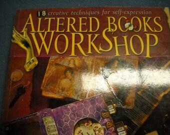 Altered Books Workshop SC Book 2004 Bev Brazelton 126 Pages Lots of Inspiration for Altering Books