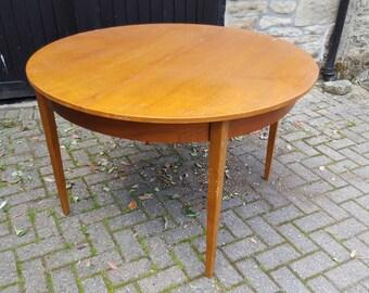 Teak Veneer Mid Century Dining Table / Retro / G Plan style