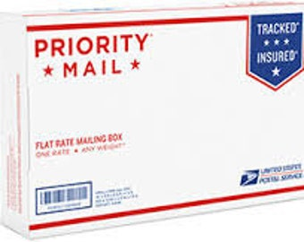 Upgrade from First Class - TO PRIORITY MAIL - 2-3 Days