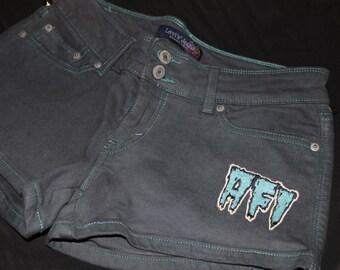 AFI Studded Shorts