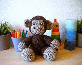 Crochet Monkey Stuffed Animal
