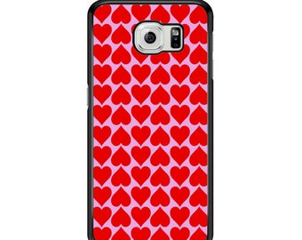 Hearts Pattern for Samsung Galaxy S3 / S4 / S5 / S6 / S6 Edge / S6 Edge Plus / S7 / S7 Edge Samsung Galaxy Phone Cover - Case