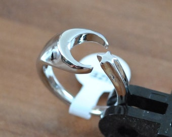 Moon and Star, Turkish style Ring. (Budget Edition)