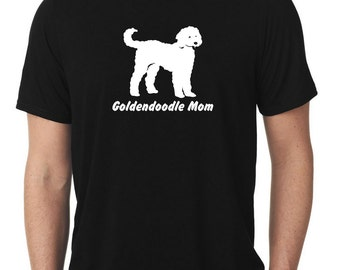 Goldendoodle Mom T-Shirt doodle T1030