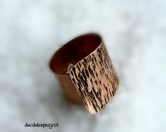 Adjustable range ring, ring, ring handmade copper, hammered and oxidized copper handmade ring, ring, ring, female, jewelry