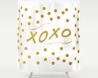Quote Shower Curtain Etsy - Shower curtain with words