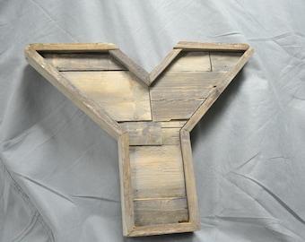 Barn Wood Letter