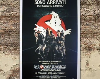 Original Movie Poster Ghostbusters - 100x140 CM - Bill Murray