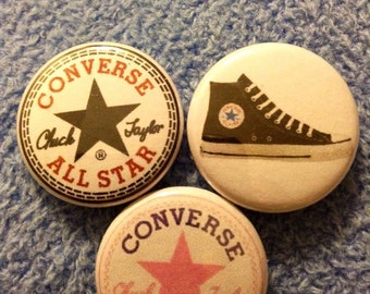 "Converse Pin Buttons 1"" Set"