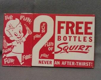 The Squirt Company 1959 Bottle Holder Box Carton