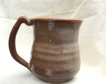 Brown Mug with White Speckle