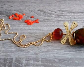 Bee Queen Pendant