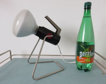large infrared lamp PERRIAND PHILIPS Holland model HP3202 large 300w model mid century 1960 1970 60's 70's vintage dutch lamp