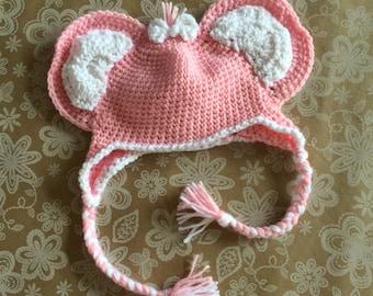Handmade Baby Elephant Hat