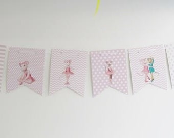 Angelina Ballerina's Party Banner