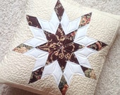 2 x quilted pillow cover