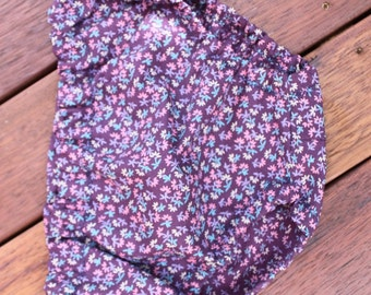 Baby Bloomers, Retro Flower Bloomers, Baby Girl Clothes